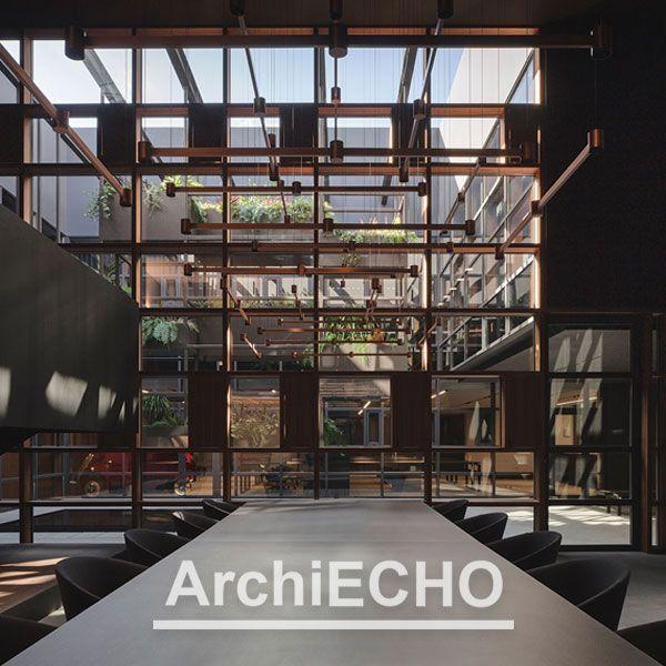"""""""Archi Echo"""" e il nuovo quartier generale di Arkoslight"""