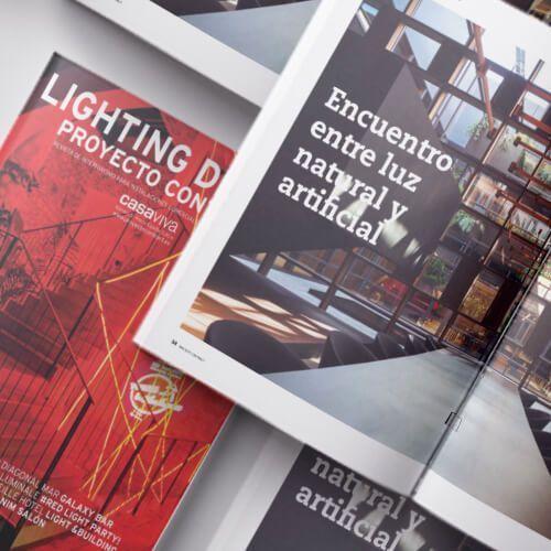 La nueva sede de Arkoslight en Lighting Design, Proyecto Contract