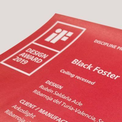 Black Foster, IF Design Award Winner 2019