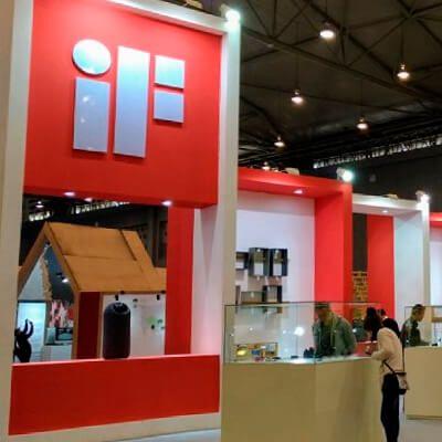 Black Foster, en la IF Design Exhibition.