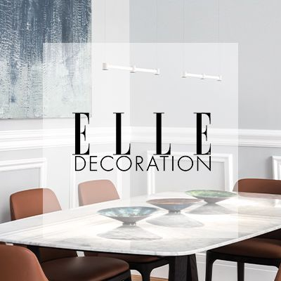 "Art, designed by Rubén Saldaña & Luis Latrás, in  ""ELLE DECO"""