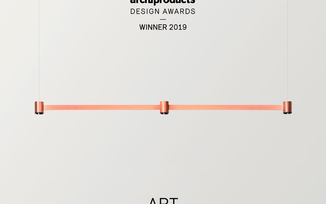 Art wurde als Gewinner der Archiproducts Design Awards ausgewählt.